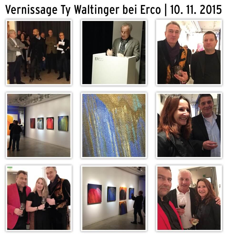 Vernissage Ty Waltinger bei Erco